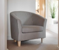 GFA Jubilee Accent Tub Chair - Bracken Fabric