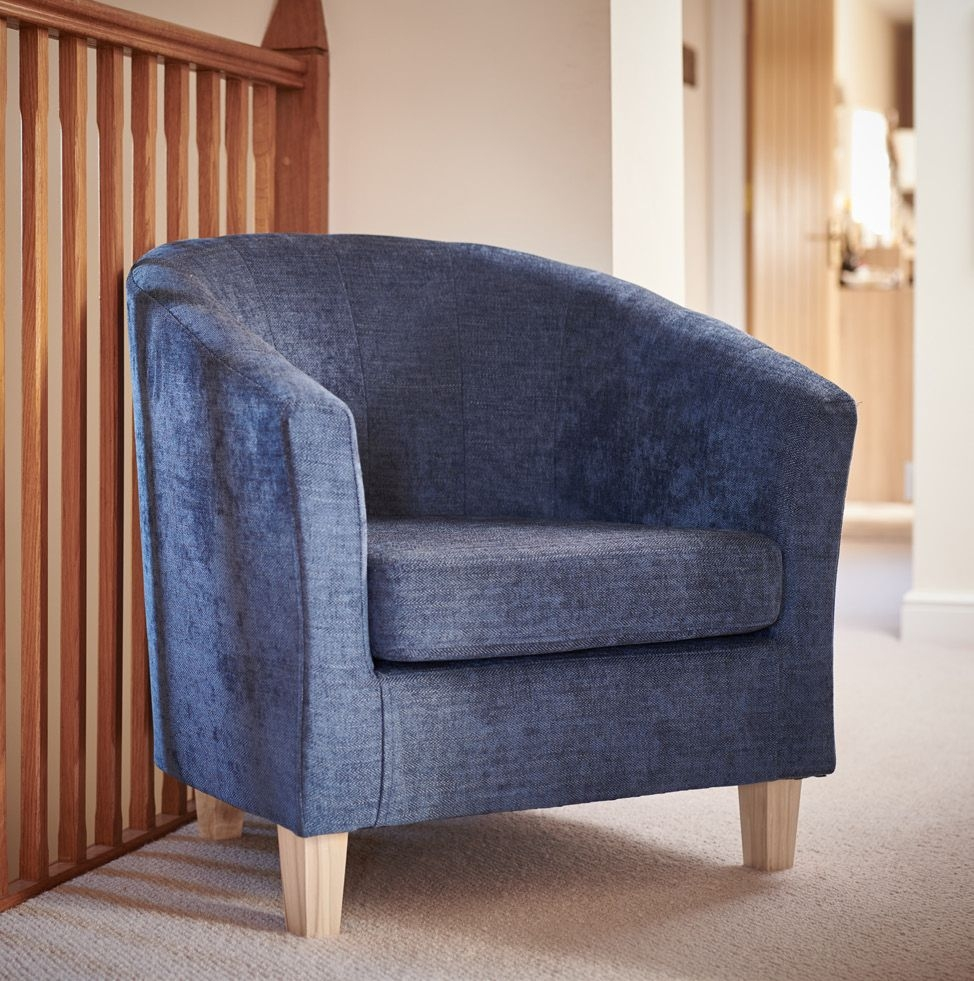 GFA Jubilee Accent Tub Chair - Aegean Fabric