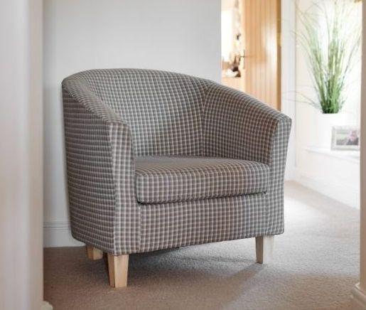 GFA Jubilee Accent Tub Chair - Bracken Fabric