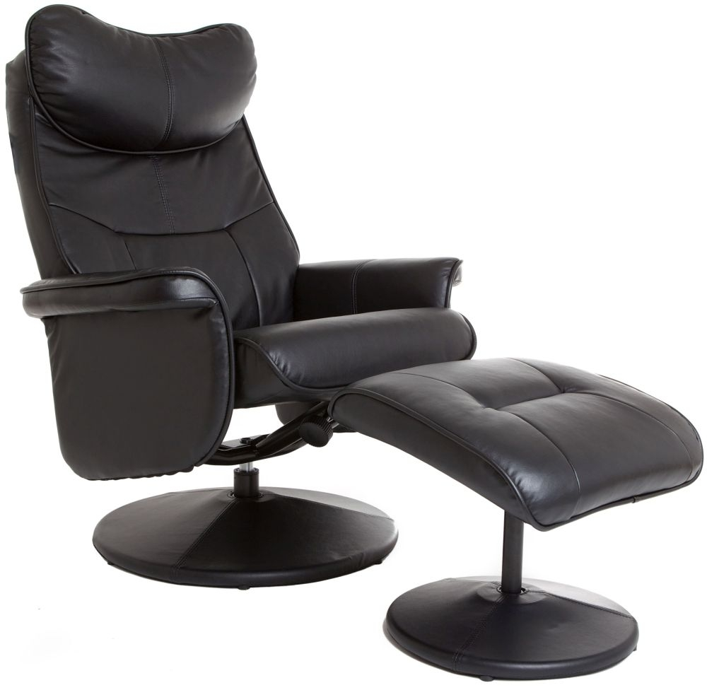 Swivel Recliner Chair Milano In Brown Pictures To Pin On
