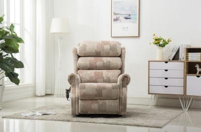 GFA Lincoln Riser Recliner Chair - Autumn Mosaic Fabric
