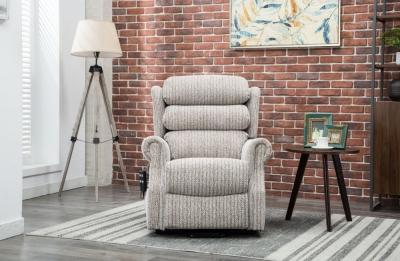GFA Lincoln Riser Recliner Chair - Wheat Fabric