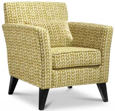 GFA Milford Fabric Accent Chair - Isla Ocher