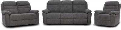 GFA Minnesota 3+2+1 Seater Fabric Recliner Sofa