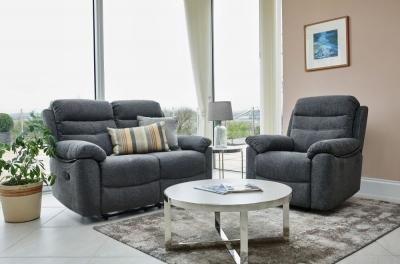 GFA Minnesota 3+2 Seater Fabric Recliner Sofa