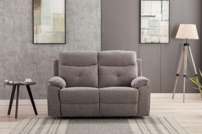GFA Ohio 2 Seater Fabric Recliner Sofa