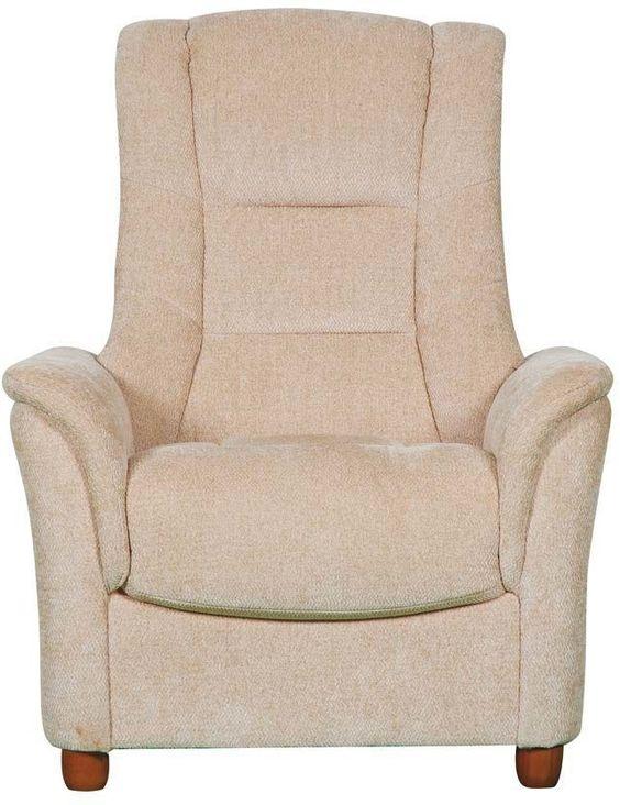 GFA Shangri la Armchair - Beige Fabric