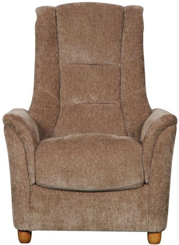 GFA ShangriLa Armchair - Mink Fabric