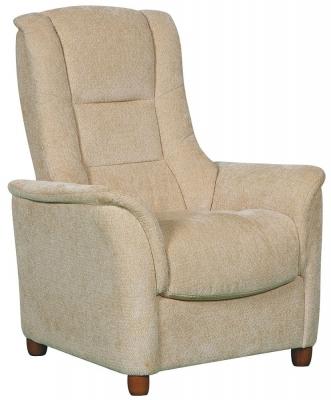GFA Shangri La Beige Fabric Fixed Chair