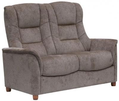 GFA Shangri La Mink Fabric 2 Seater Sofa