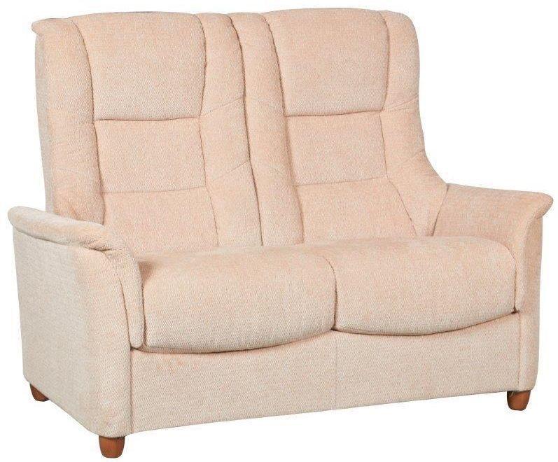 GFA Shangri La Beige Fabric 2 Seater Sofa