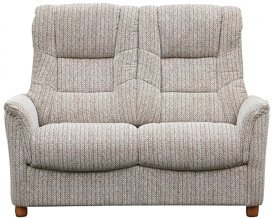 GFA Shangri La Wheat Fabric 2 Seater Sofa