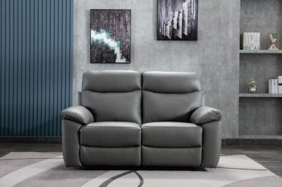 GFA Tahiti 2 Seater Leather Match Fabric Recliner Sofa