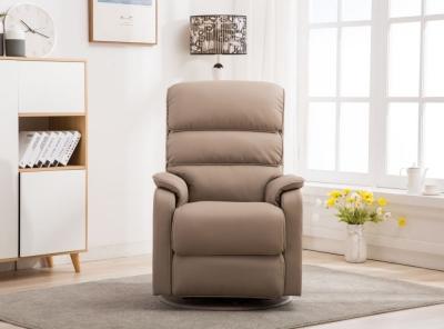 GFA Valencia Swivel Recliner Chair - Pebble Plush