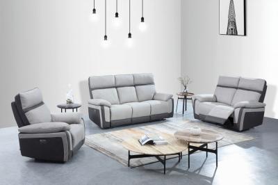GFA Vermont 3+2+1 Seater Fabric Recliner Sofa