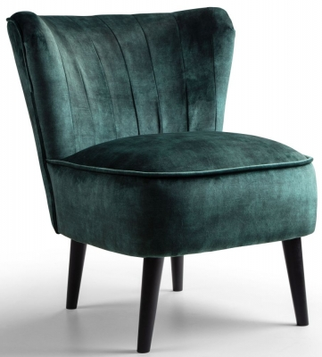 GFA Wilby Fabric Accent Chair - Dove Emerald