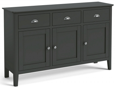 Global Home Arundel Charcoal Painted Large Sideboard