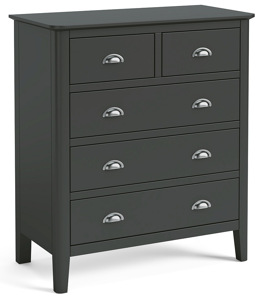 Global Home Arundel Charcoal Painted 2+3 Drawer Chest