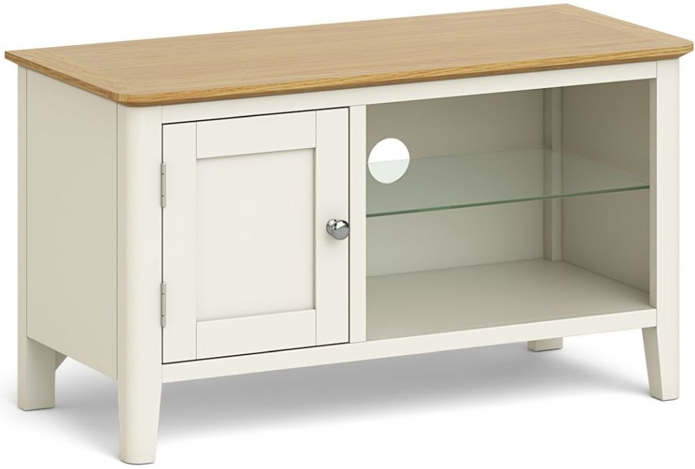Product photograph showing Global Home Ascot Painted Tv Unit