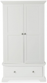 Global Home Ashford White Wardrobe - Gents