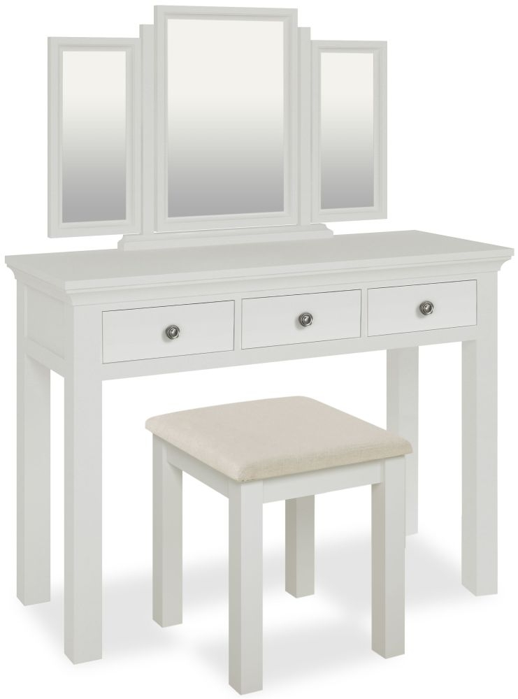 Global Home Ashford White Dressing Table