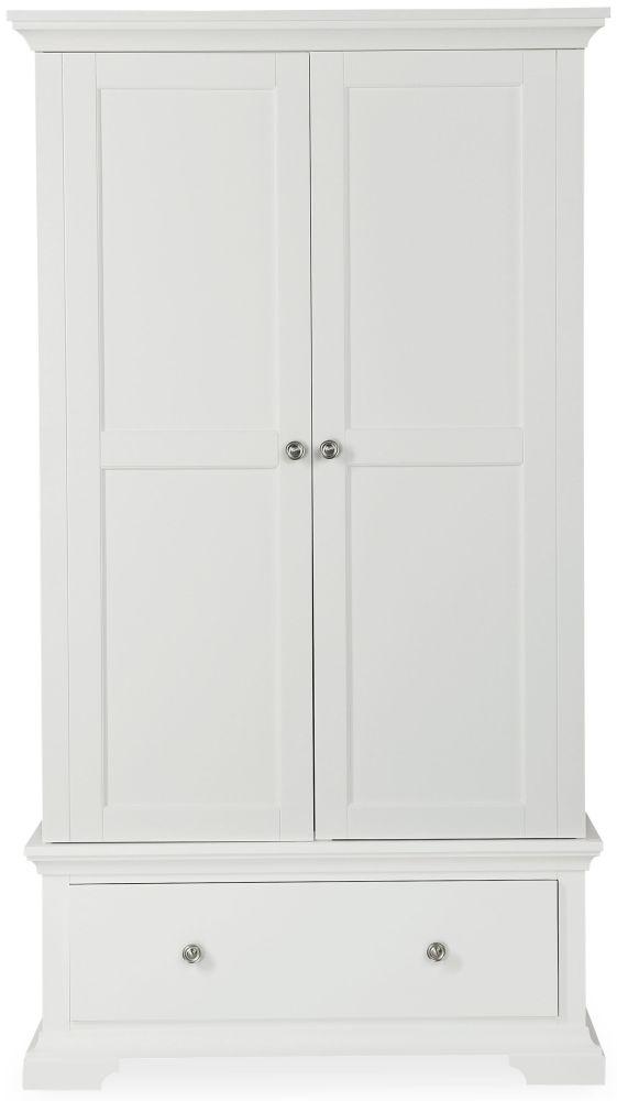 Global Home Ashford White Wardrobe - Gents