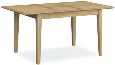 Bath Oak 120cm-160cm Extending Dining Table