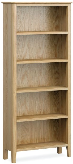 Global Home Bath Oak Large Bookcase