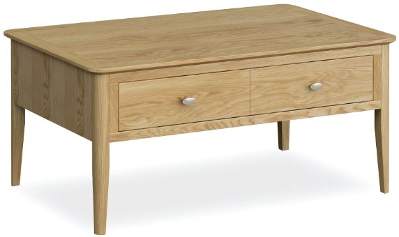 Global Home Bath Oak Coffee Table