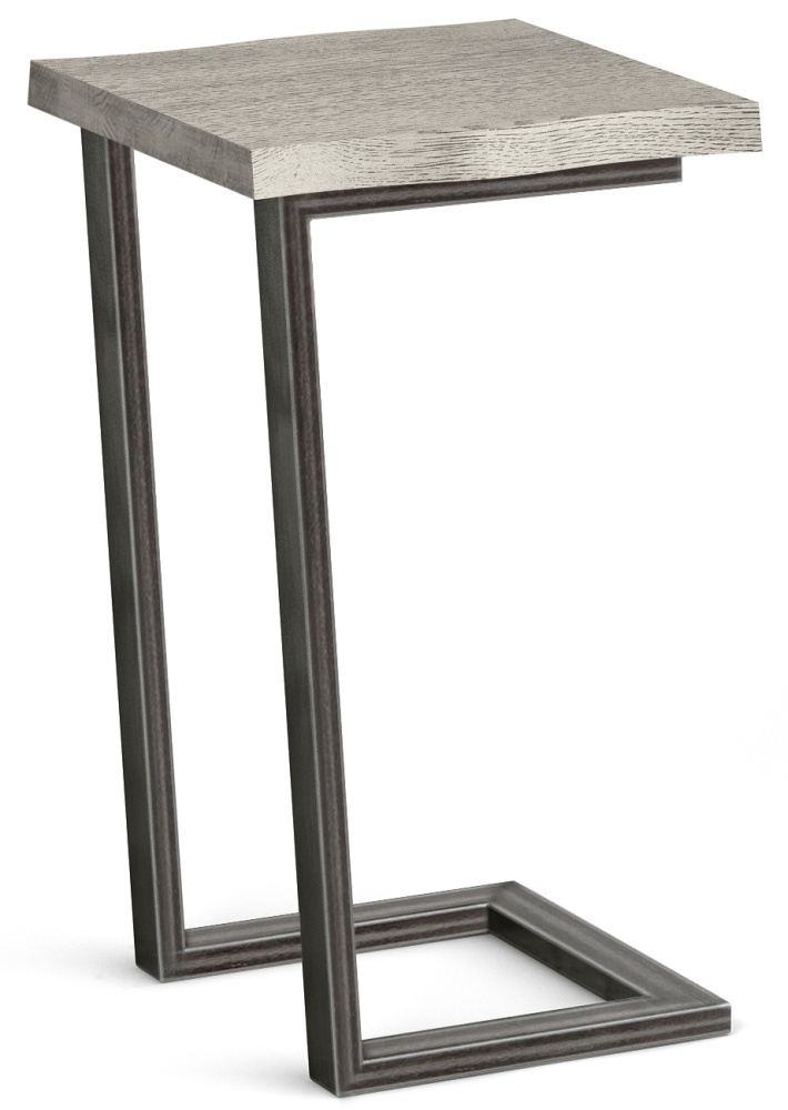 Global Home Brooklyn Grey Oak Side Table
