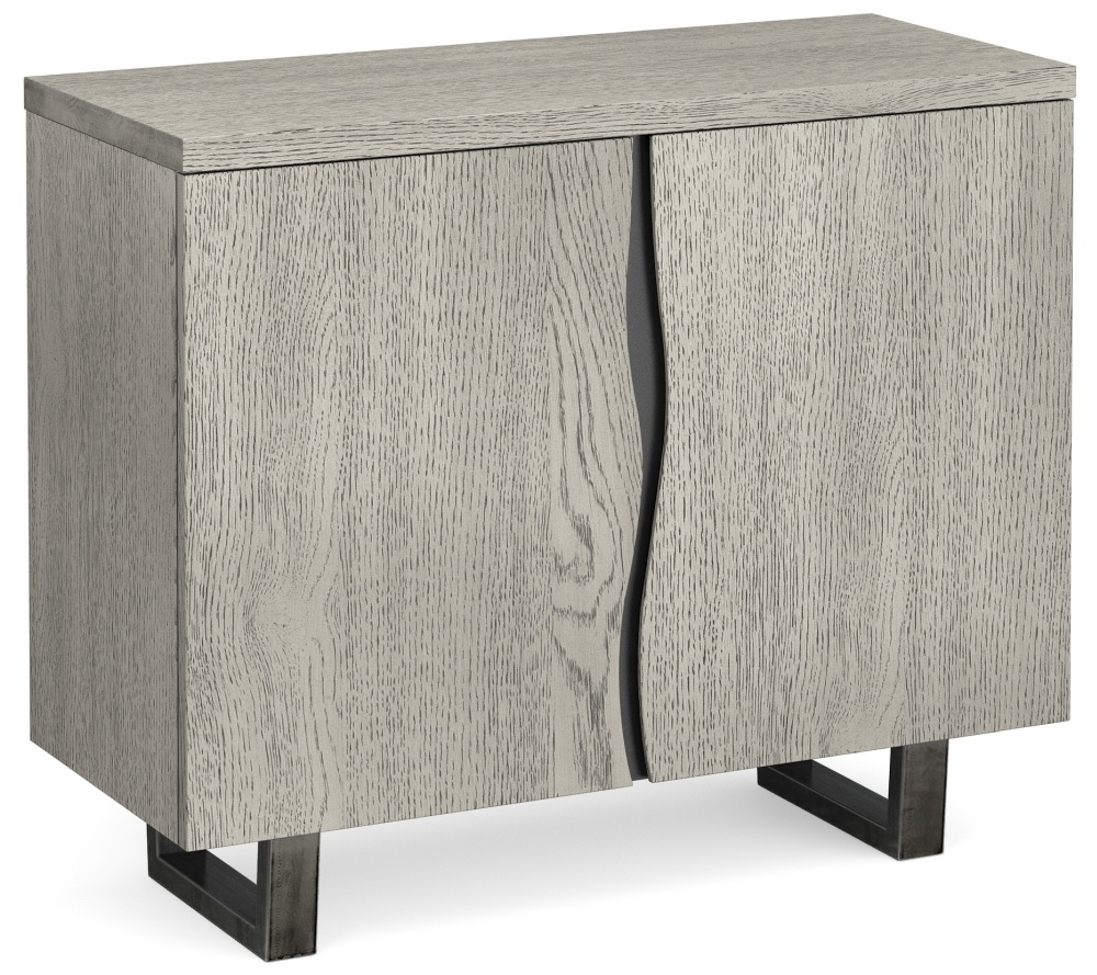 Global Home Brooklyn Grey Oak Small Sideboard