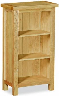 Global Home Burlington Oak Bookcase   Mini