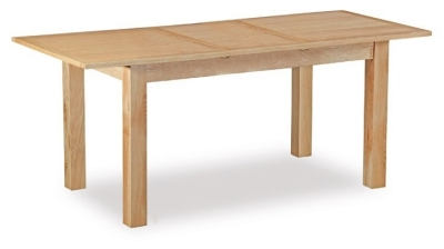 Global Home Burlington Oak Dining Table - Compact Extending