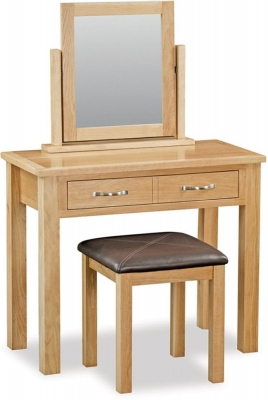 Global Home Burlington Oak Dressing Table Set