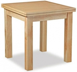 Global Home Burlington Oak Dining Table - Square Extending
