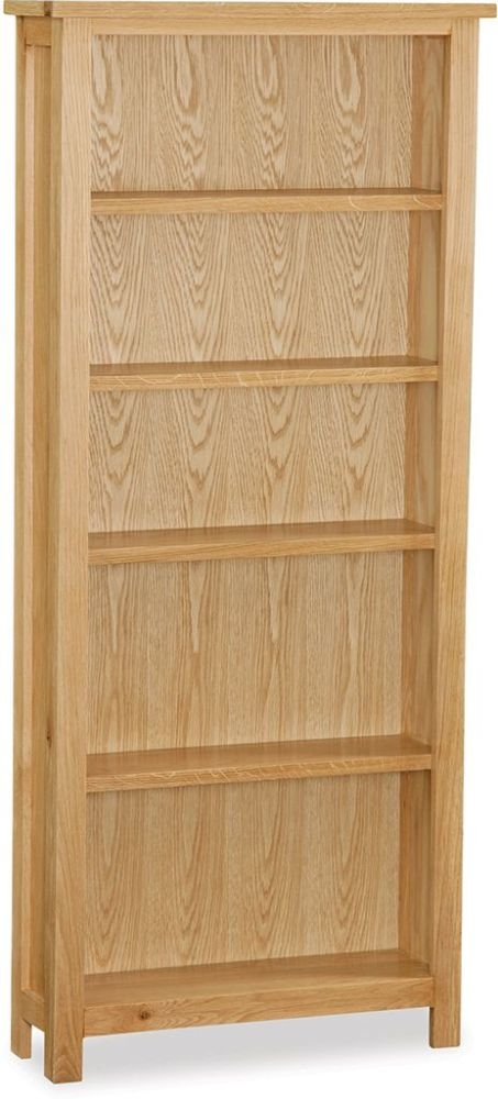 Global Home Burlington Oak Large Bookcase