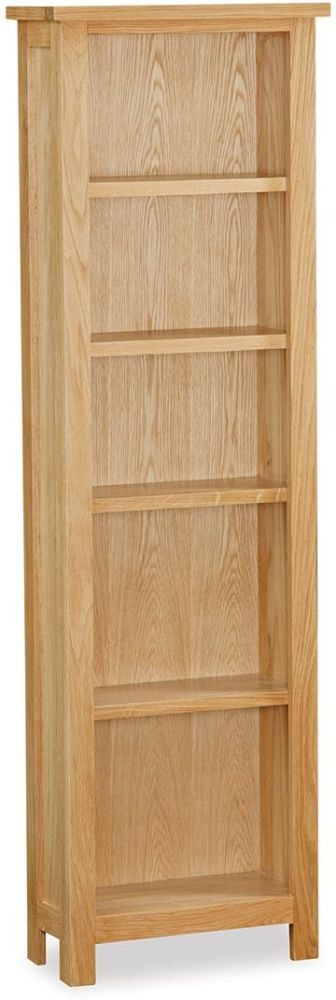 Global Home Burlington Oak Narrow Bookcase