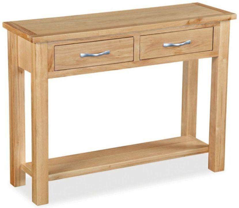 Global Home Burlington Oak Console Table