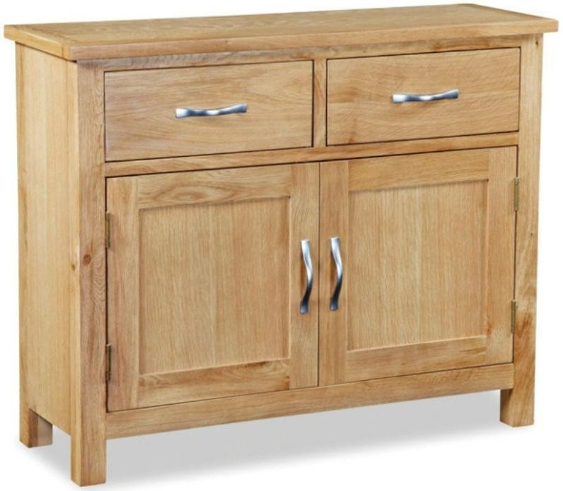 Global home burlington oak sideboard mini Global home furniture uk