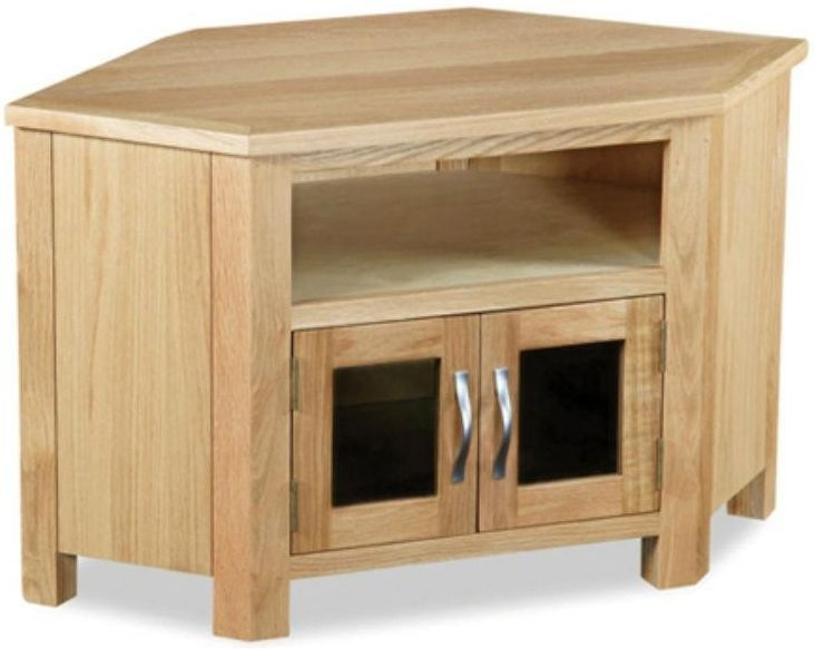 Global Home Burlington Oak TV Unit - Corner