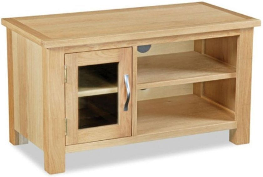 Global Home Burlington Oak TV Unit