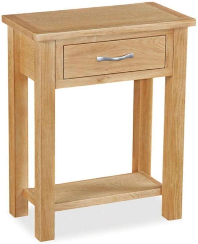 Global Home Burlington Oak Telephone Table