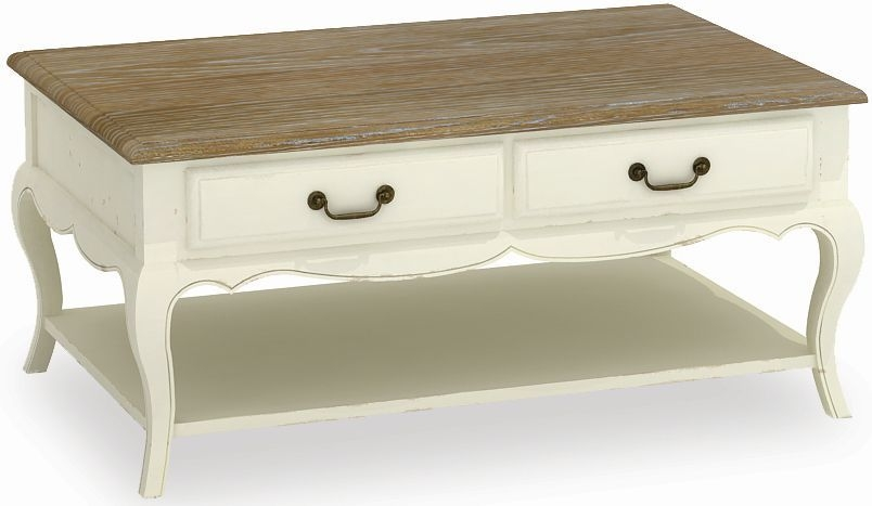 Global Home Charlotte Painted Coffee Table - Large