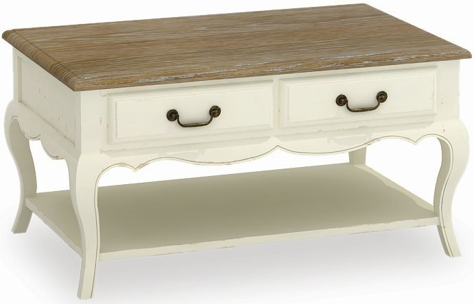 Global Home Charlotte Painted Coffee Table - Small