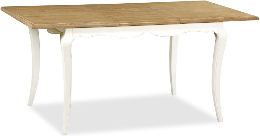 Global Home Charlotte Painted Dining Table - Small Extending