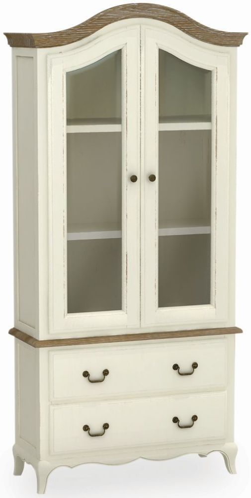 Global Home Charlotte Painted Display Cabinet