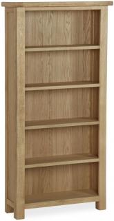 Global Home Cheltenham Oak Bookcase - Large