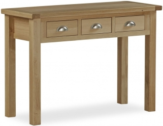 Global Home Cheltenham Oak Dressing Table - Wide