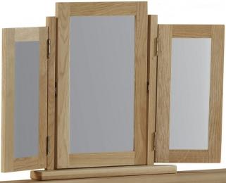 Global Home Cheltenham Oak Mirror - Triple