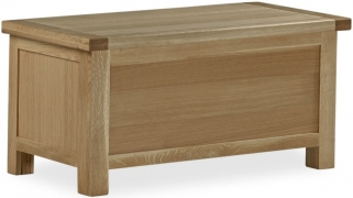 Global Home Cheltenham Oak Storage Box